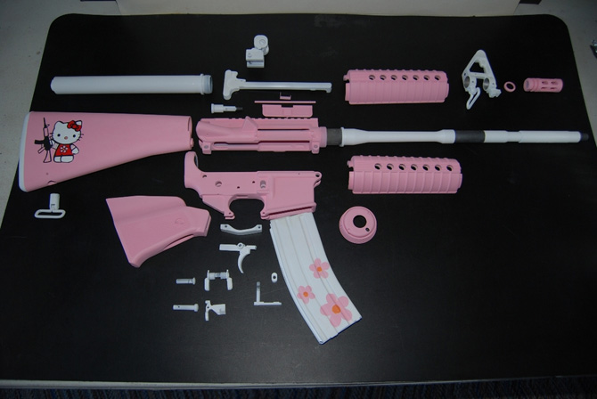 January 13, 2008 in Telemundo News | Tags: ar-15, hello kitty | 1 comment
