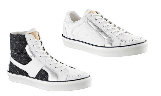 Louis Vuitton Sk8 Hi Sneakers