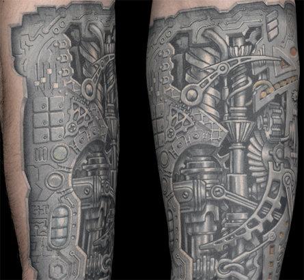 oxford geer works tattoo