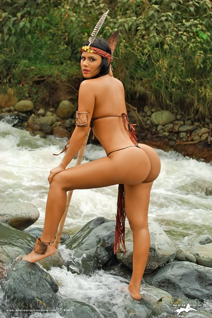 Sexy american indian legs