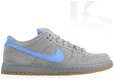 6c3480479a8c The Nike Dunk Low Pro SB Iron s are a clean grey colorway with some ice  cold blue mixed in. Long time SB heads will recognize this familiar combo
