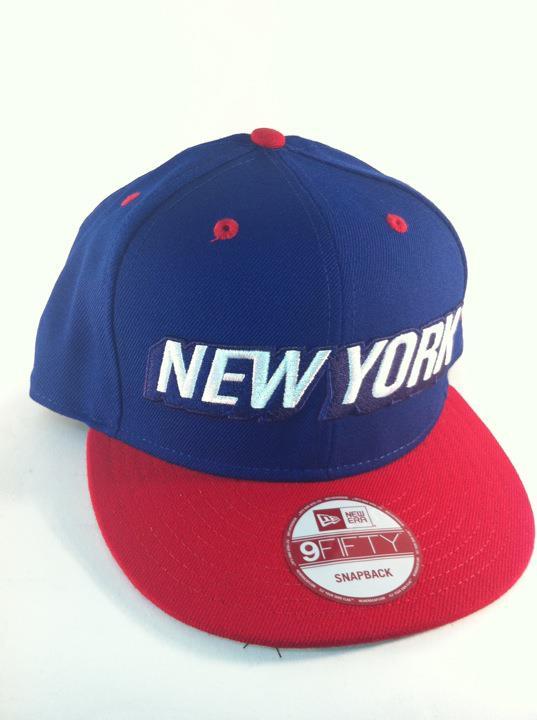 61fc5140903 Secret Society x New Era Snapback Football Pack – NY Giants Colorway