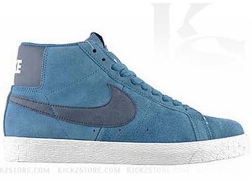 buy popular d3005 1be41 Havent seen a nice Blazer SB hit our site in a few, Just got in at  KickzStore.com the Nike Blazer SB Mid in the Rift Blue colorway buy them  now at ...